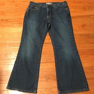 Tommy Hilfiger Low Rise Flare Jeans Sz 12
